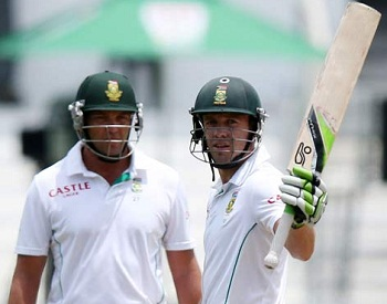 Jacques Kallis and AB de Villiers - Important partnership of 127 runs