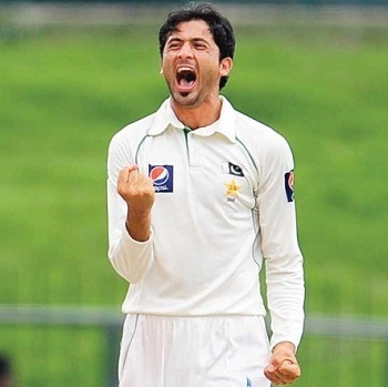 Junaid Khan - Star performer with five wickets