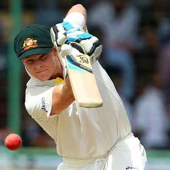 Steven Smith - Rescued Australia with his second Test ton