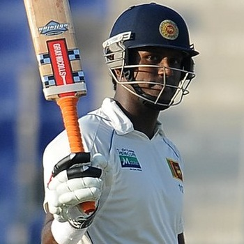 Angelo Mathews - Captain's unbeaten knock of 116