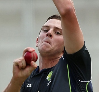 Josh Hazlewood - Hostile bowling spell of 4-30