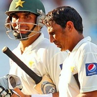 Misbah-ul-Haq and Younis Khan - Centurions in the first innings