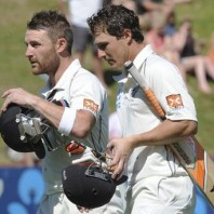 Brendon McCullum and BJ Watling - A match winning partnership of 352 runs