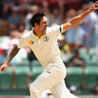 Mitchell Johnson - Furious bowling
