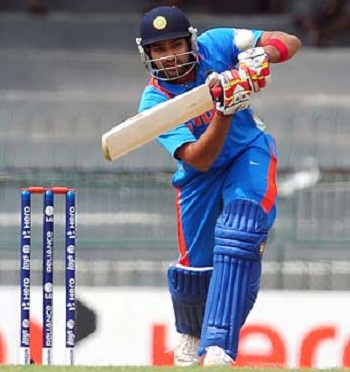 Rohit Sharma - Unbeaten 62 while opening the innings