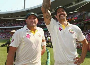 Ryan Harris and Mitchell Johnson - Destroyed the batting of South Africa