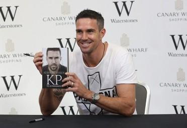 KP smiling