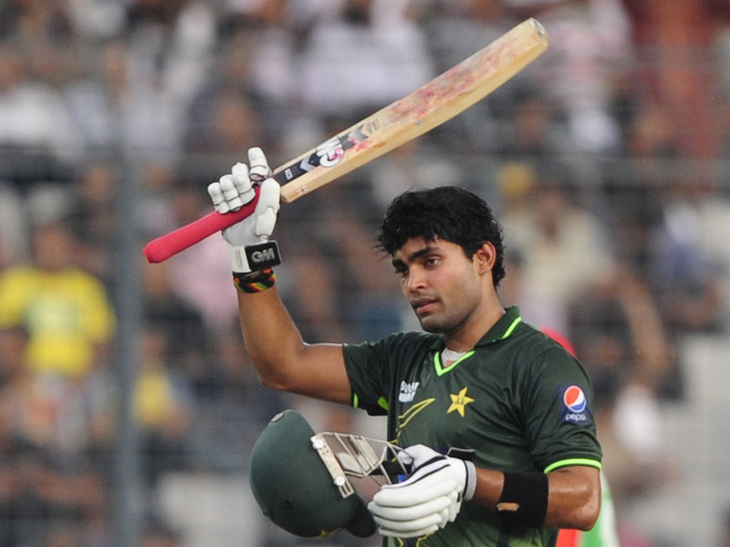 Umar Akmal Scored Crucial 57 against Bangladesh in 3rd ODI