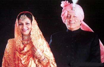 Mansoor Ali Khan Pataudi and Sharmila Tagore
