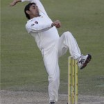 Ajmal fights back for Pakistan as match evenly poised
