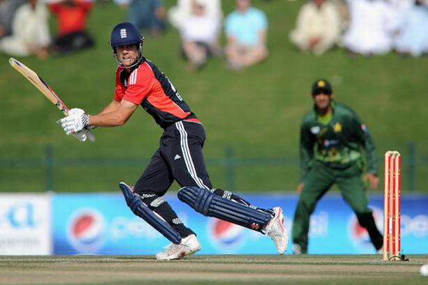 Alastair Cook scored his career best 137 runs against Pakistan