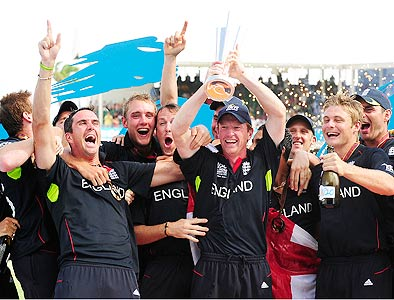 England T20 team holds the record of most consecutive wins