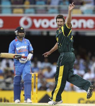 Hilfenhaus demolished Indian batting line
