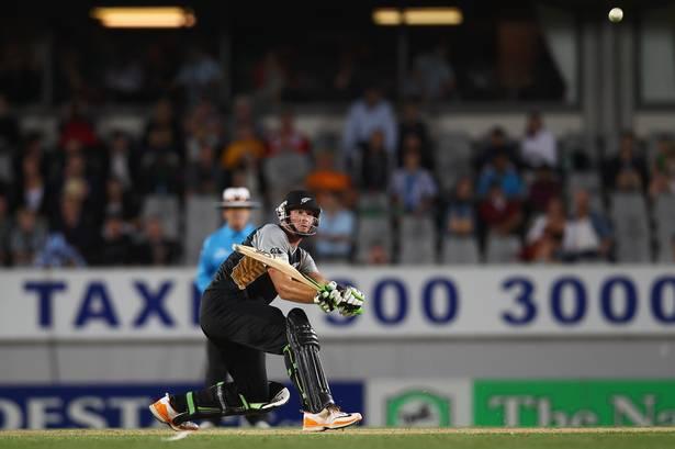 Martin Guptill scored 91 runs against Zimbabwe in the first T20 match
