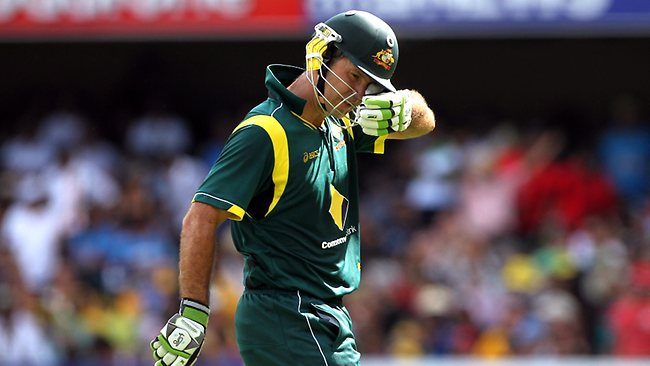 Oh Boy! What a career that was! End of ODI career for Ricky Ponting?