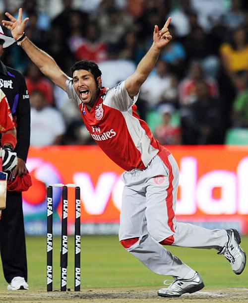 Yuvraj Singh in IPL