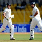 New Zealand faces an uphill task of chasing 401 runs to win the first Test