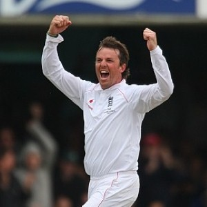 Graeme Swann - star performaer with 6 wickets in second innings