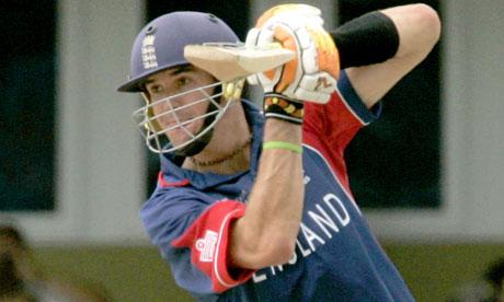 Kevin Peitersen in ICC Cricket World Cup 2007