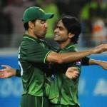 Mohammad Hafeez and Umar Gul- match winning performance against Bangladesh