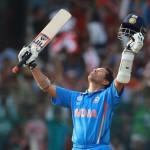 Sachin Tendulkar - after achieving 100th hundred
