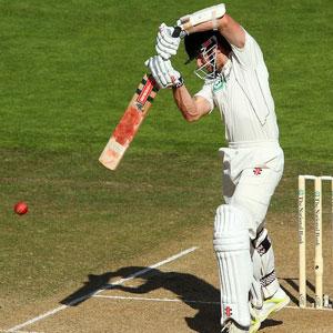 Kane Williamson - a match saving innings of 102* runs