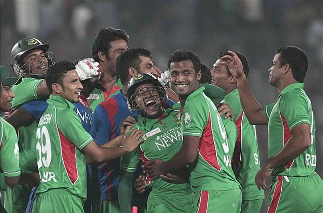 Bangladesh thrilled after reaching final of the Asia Cup 2012
