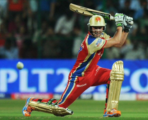 AB de Villiers - 'Player of the match' for his brilliant knock of 59 from 23 balls