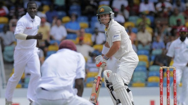 Darren Sammy - leading the West Indies bowling from the front