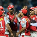 Dimitri Mascarenhas squeezed Pune Warriors as Kings XI Punjab enjoyed first victory