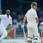 Rain interruption ends electrifying match – 2nd Test Australia vs. West Indies