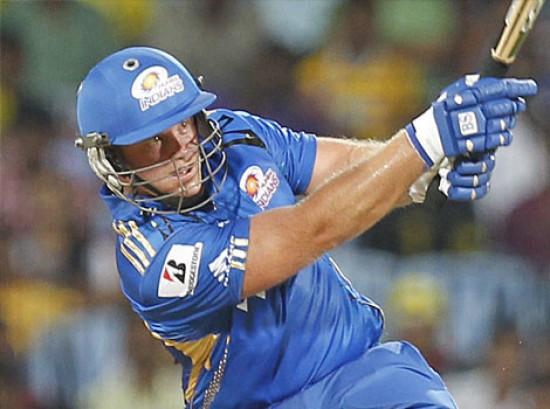 Richard Levi - 'Player of the match' Mumbai Indians
