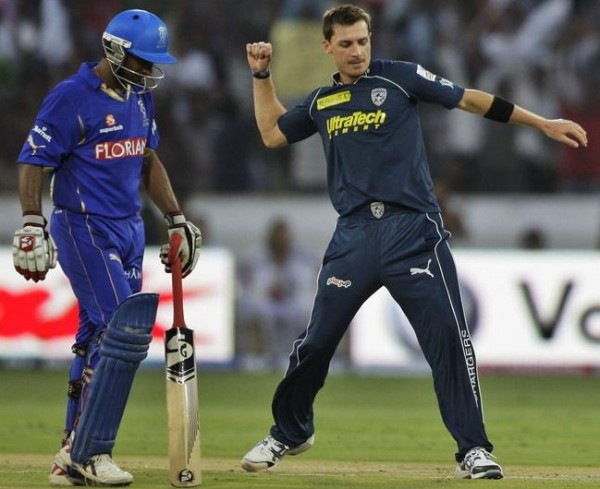 Dale Steyn - 'Player of the match' for his accurate bowling