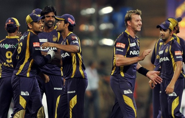 Happy faces in the KKR camp