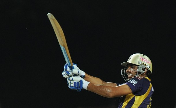 Manvinder Bisla - 'Player of the match' for his outstanding knock of 89 from 48 balls