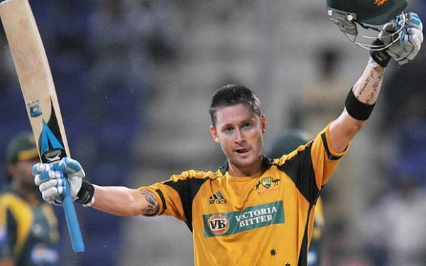 Michael Clarke - Captain of Australia on the tour of Ireland and England