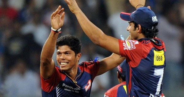 Umesh Yadav - 'Player of the match' for his splendid bolwing