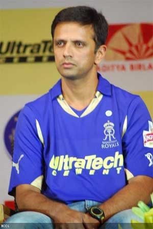 Dravid, the Wall of Rajasthan Royals as well