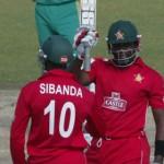 Vusi Sibanda and Hamilton Masakadza - Match winning opening partnership of 114 runs