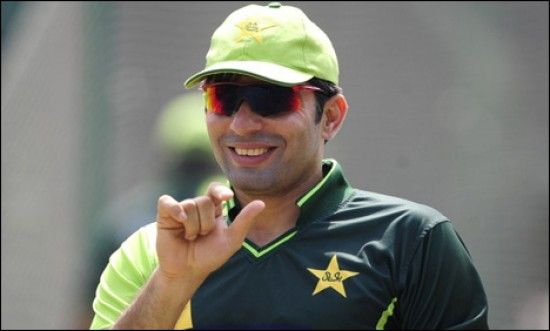 Misbah-Ul-Haq - To lead the Pakistani squad vs. Australia in the ODIs