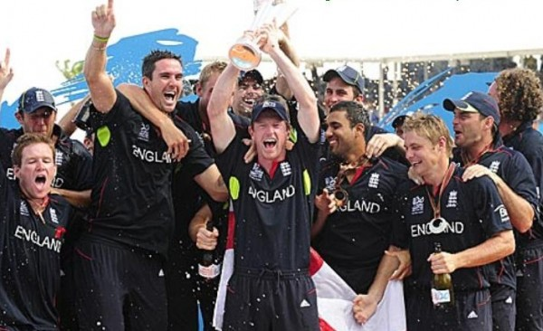 England - T20 worldcup 2010 Champions