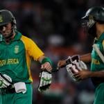 Hashim Amla and AB de Villiers - An unbroken match winning partnership of 172 runs