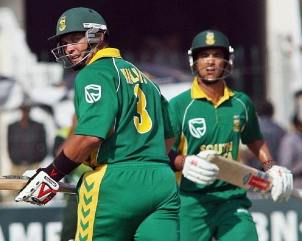 Jacques Kallis and Jean-Paul-Duminy - An unbroken match winning partnership of 90 runs