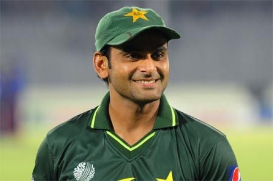 Mohammad Hafeez - 'Player of the match' for his all round performance