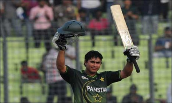 Nasir Jamshed - An entertaining innings of 97 runs