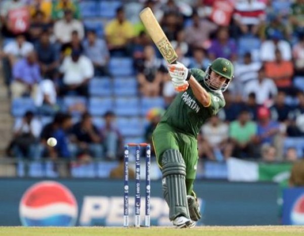 Nasir Jamshed - 'Player of the match' for his scintillating knock of 56 runs
