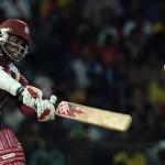 Chris Gayle - Murdered the Australian bowling with his fiery unbeaten 75 runs
