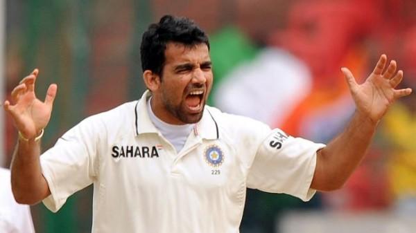 Zaheer Khan - 'Player of the series' Pataudi Trophy 2008-09