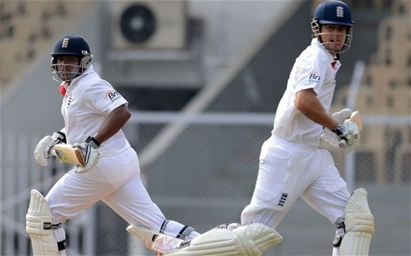 Alastair Cook and Samit Patel - Initaited the tour with a bang