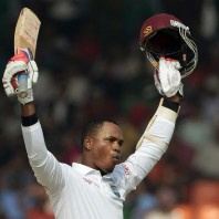 Marlon Samuels - Thrilled after plundering his maiden Test double hundred